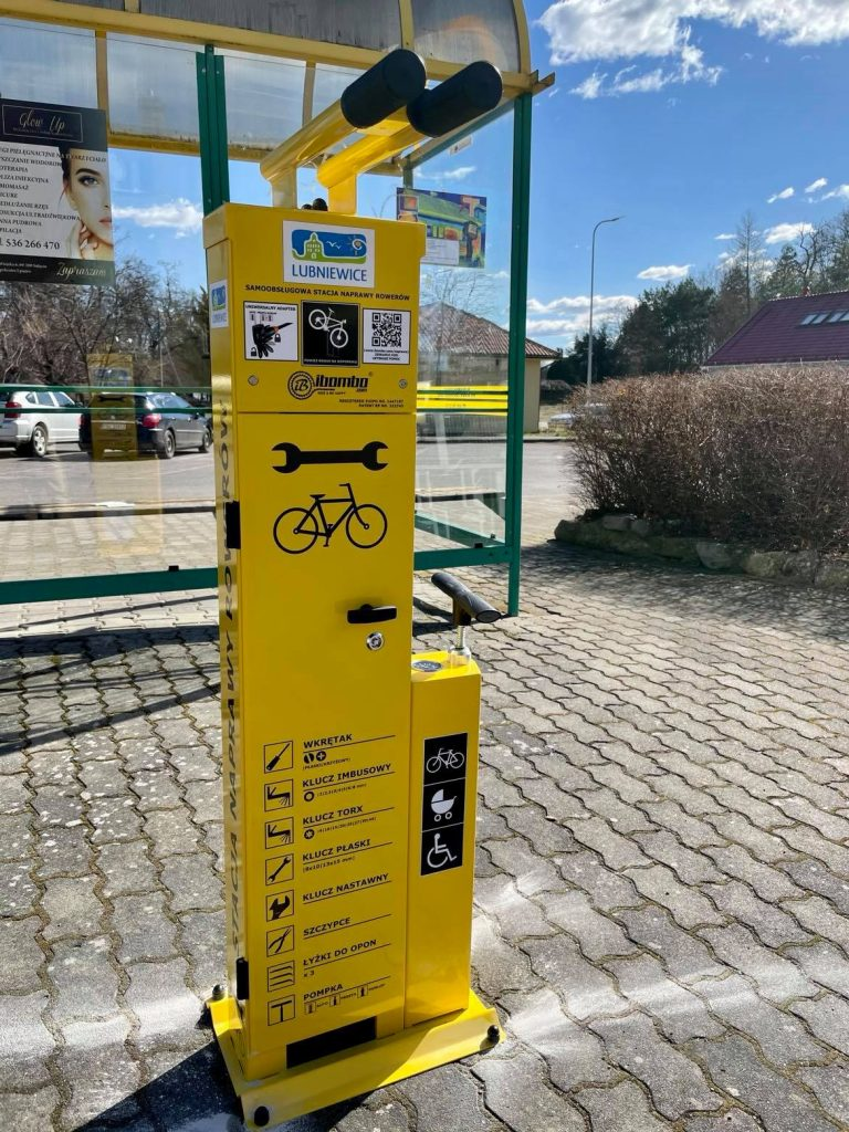 stacja naprawy rowerowa