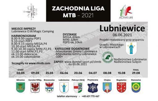 Zawody sprtowe MTB w Lubniewicach