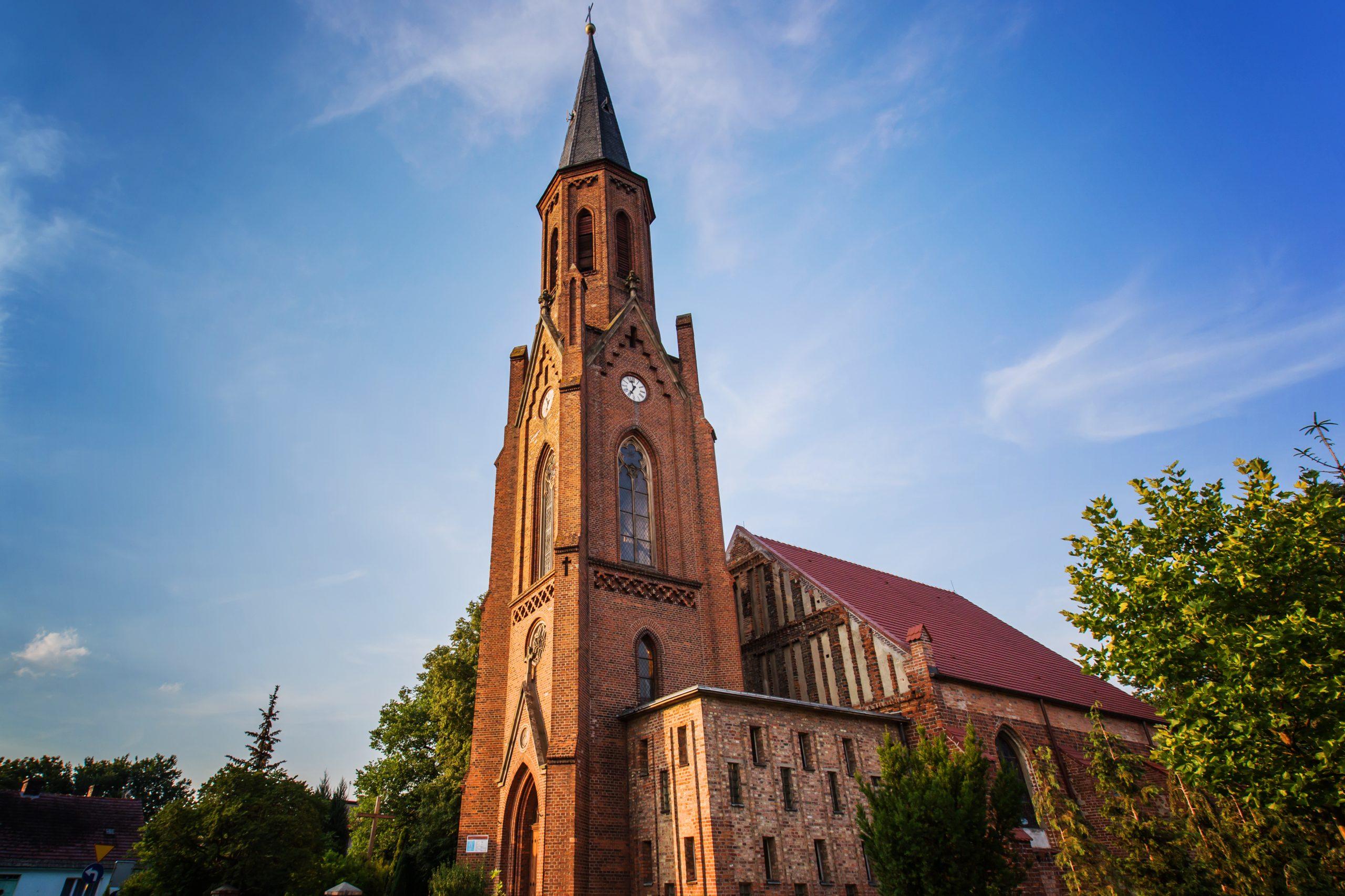 kościół lubniewice
