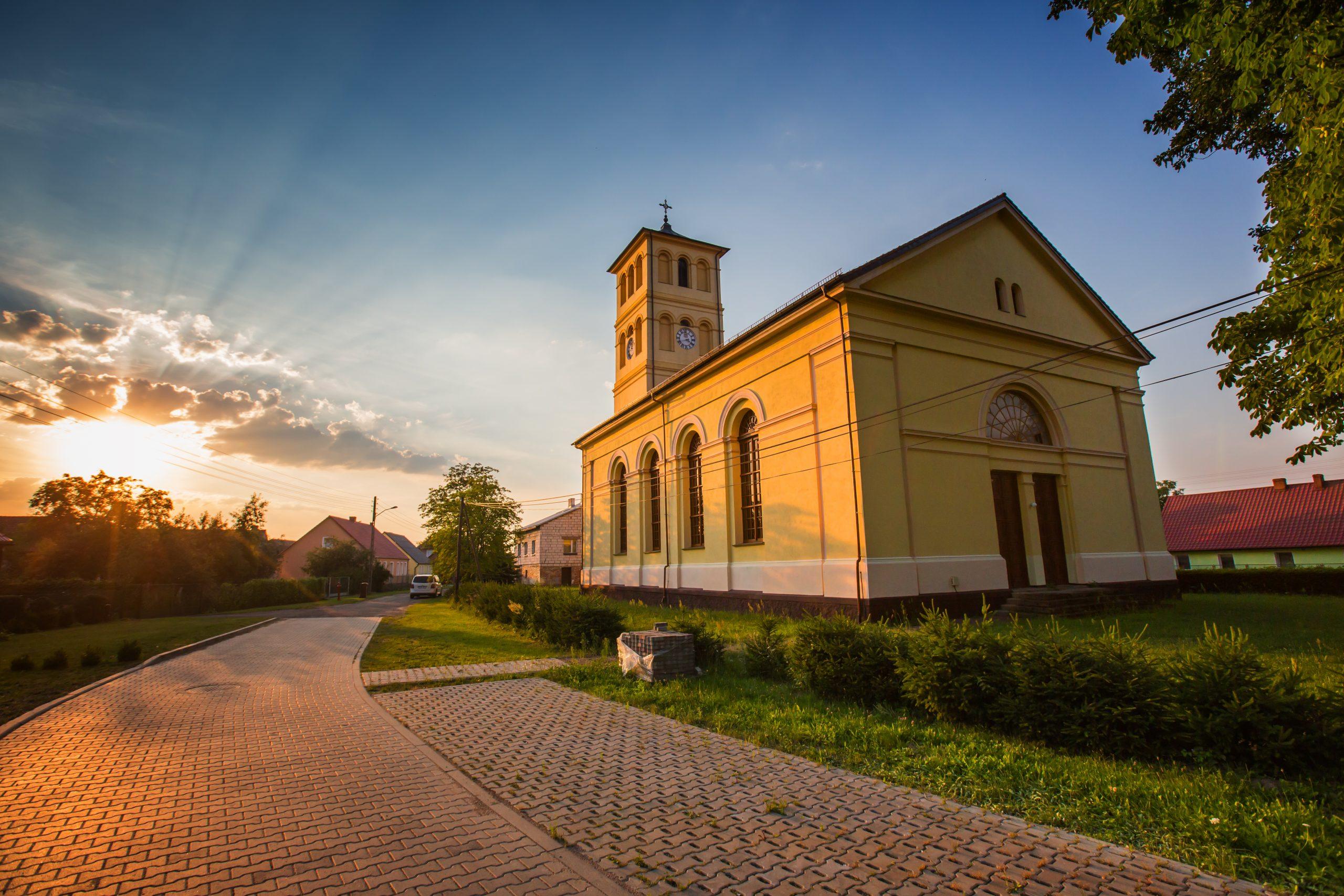 kościół w gliśnie