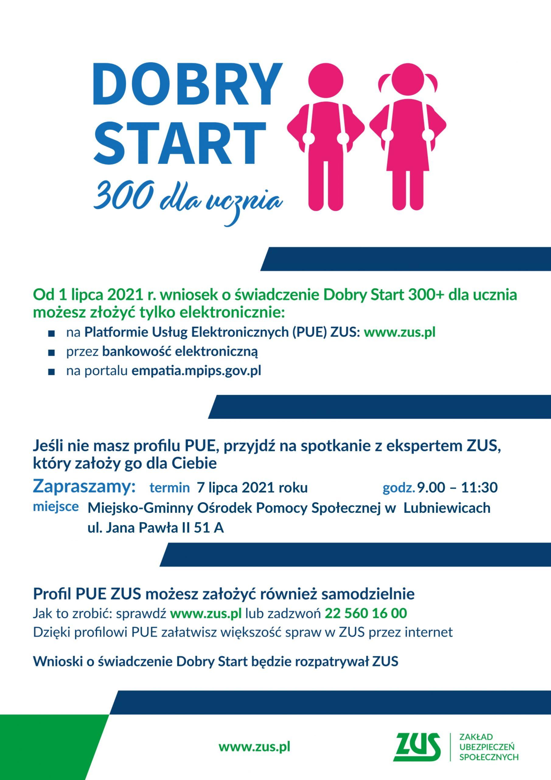 plakat-pue-zus-300+-dla-ucznia-lubniewice-2021