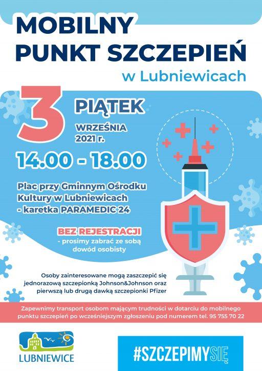 Mobilny Punkt Szczenień w Lubniewicach