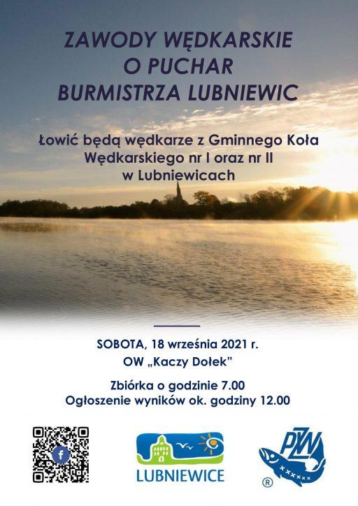 Zawody Wędkarskie o Puchar Burmistrza Lubniewic