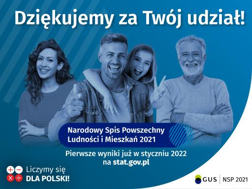 Zakończenie Narodowego Spisu Powszechnego 2021
