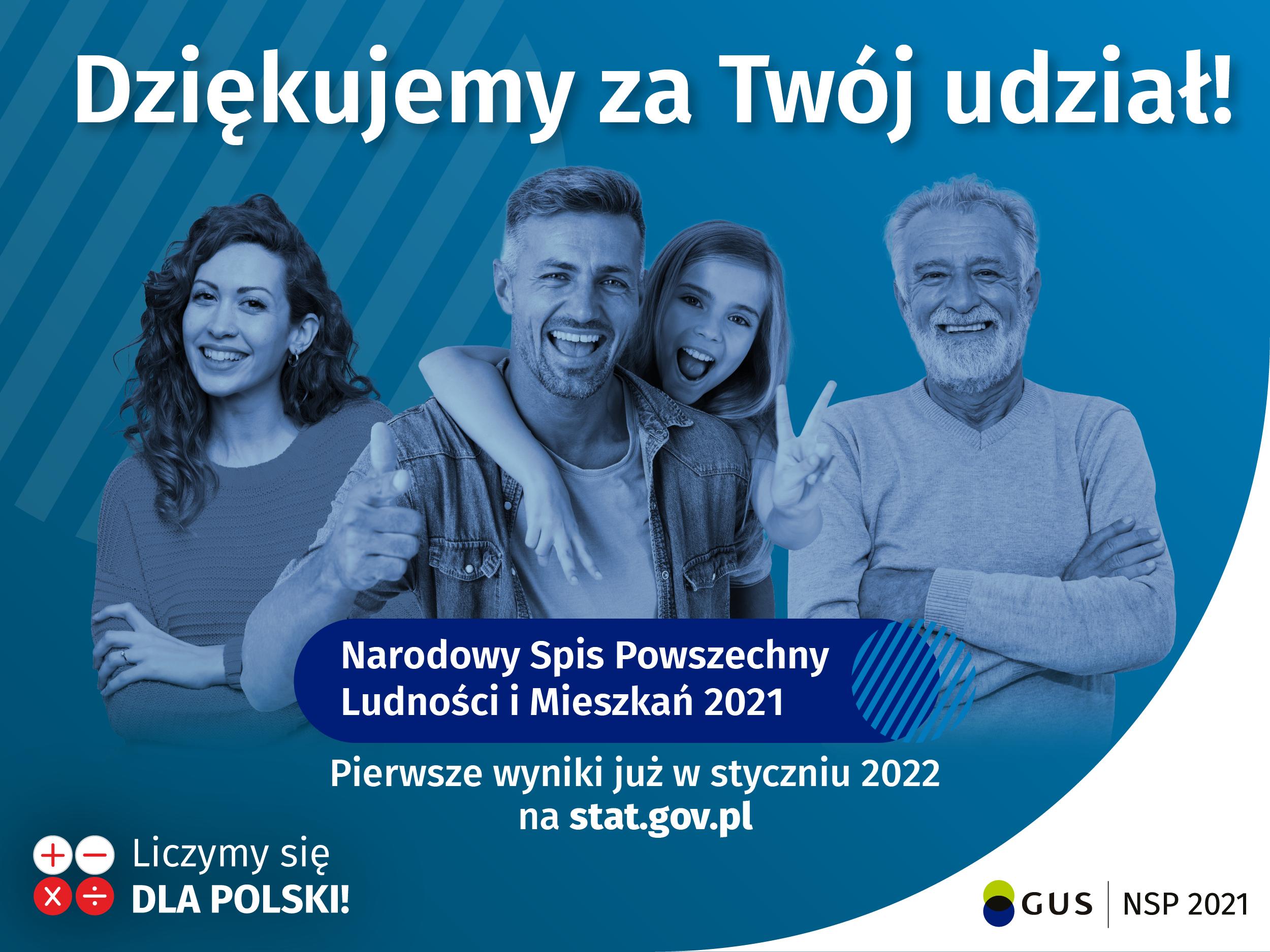 zakończenie spisu ludności i mieszkań 2021