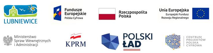 logotypy polski ład unia europejska